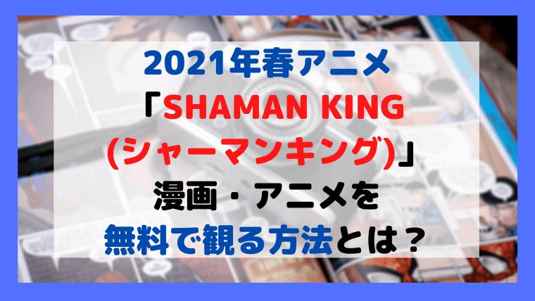 SHAMAN KING(シャーマンキング)をお得に観る方法